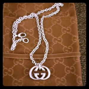 Gucci GG Interlocking Necklace